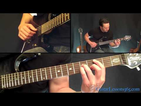 Money For Nothing Guitar Lesson - Dire Straits - Famous Riffs