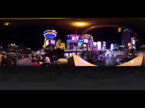 JSV: 360Fly fully interactive video on the Las Vegas Strip!