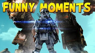 FUNNY MOMENTS - Titanfall 2 Multiplayer Tech Test