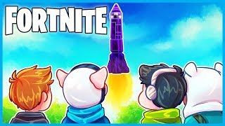 THE ROCKET LAUNCH was *INSANE* in Fortnite: Battle Royale! (WHAT HAPPENED?!?) (TILTED DESTROYED?!?)