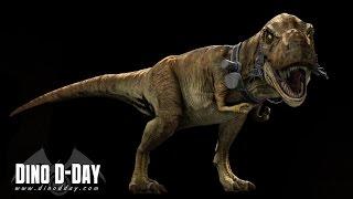 Забег по игре Dino D-Day - Альтернативная реальность