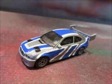 Hot Wheels Custom Bmw M3 And M4 Nfs Youtube