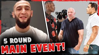 Khamzat Chimaev reveals his next fight date is SET! Israel Adesanya & Paulo Costa ARGUE, UFC 253