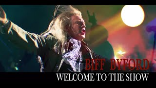 Biff Byford - Welcome To The Show (Official Lyric Video)