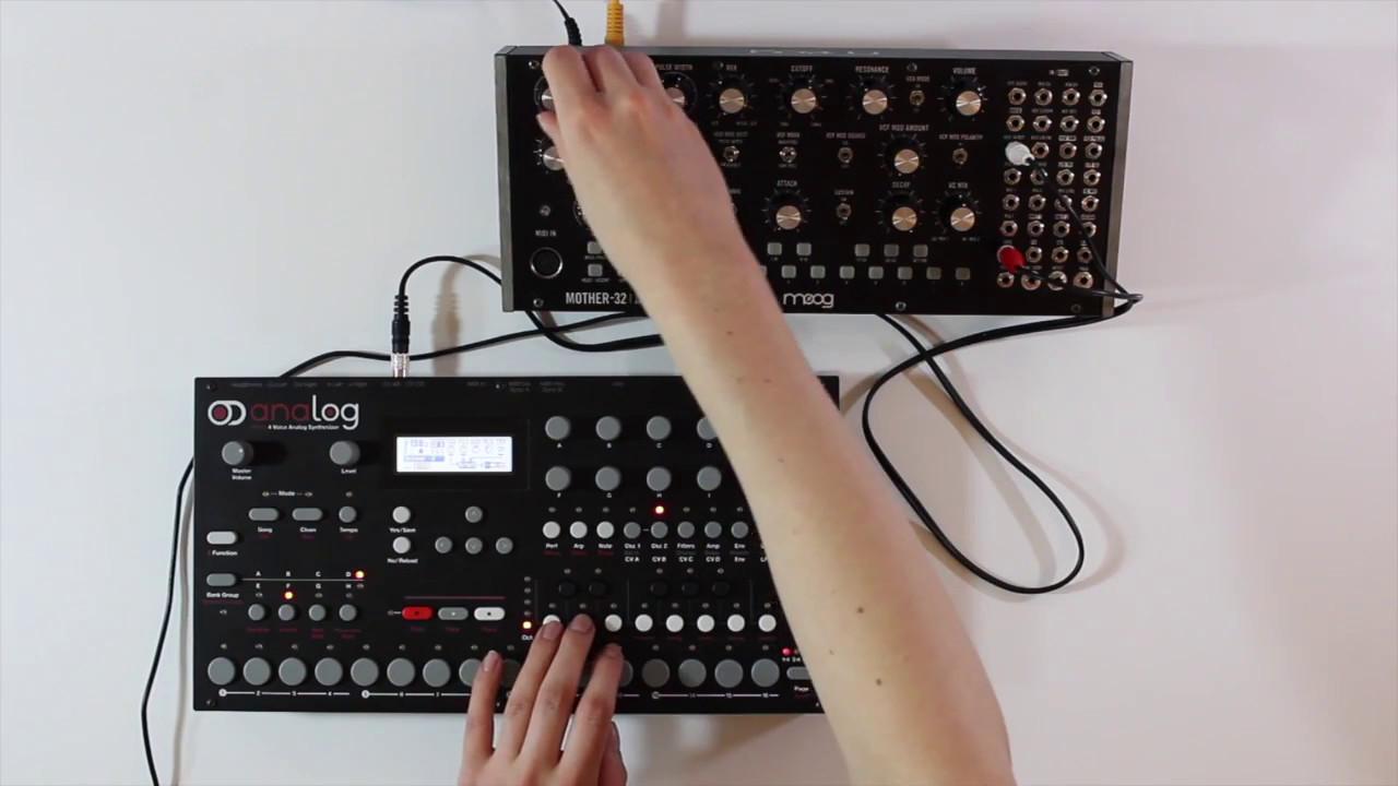 tutorial  analog four cv sequencing
