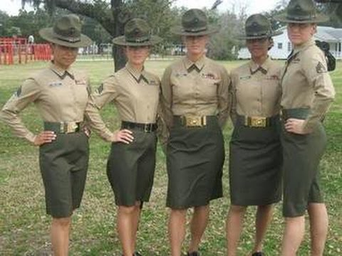 Marine Female Drill Instructor goes berserk!