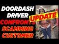 UPDATE DoorDash Driver CONFRONTS Scamming CVS Manager Who Says Driver Never Delivered Food