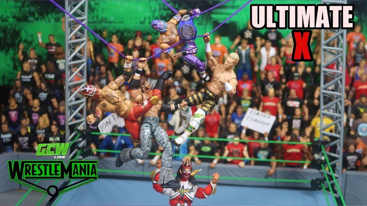 ULTIMATE X ACTION FIGURE MATCH! GCW Wrestlemania 9 Part 6