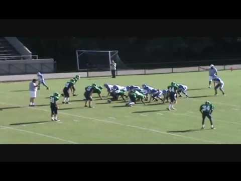 Tyler bray football highlights from belmont middle school 2009