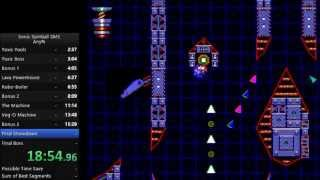 Sonic Spinball Master System Speedrun in 0:20:15 [Current World Record]