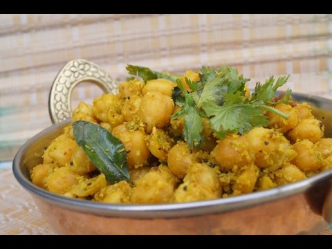 Sundal  - in Tamil / Spicy Chickpea, Healthy Snack