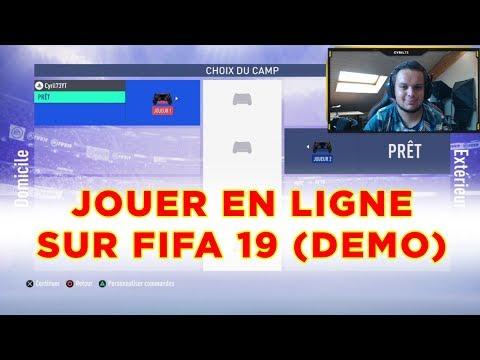 TUTO : JOUER EN LIGNE SUR LA DÉMO DE FIFA 19 (PS4)