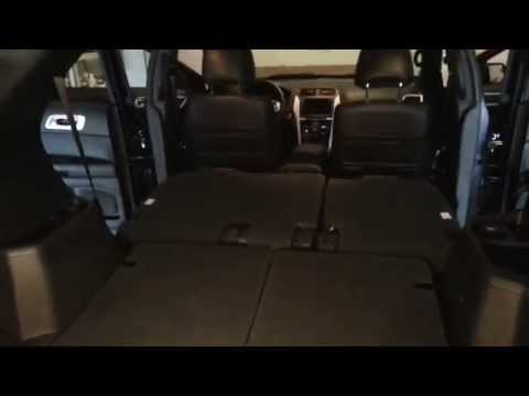 2014 Ford Explorer - Rear Cargo Room With All Seats Folded Down