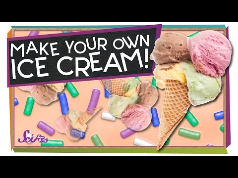 Make Your Own Ice Cream! - #sciencegoals