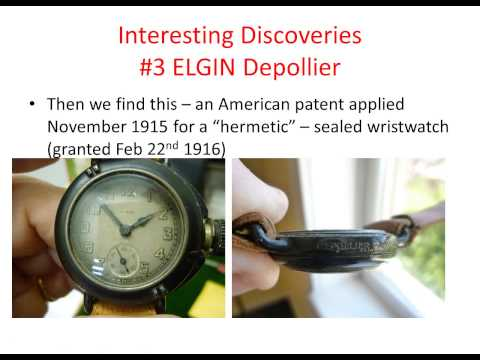 The Beginning of the Self Winding Wristwatch: Interesting Finds in the Museum Watch Collection