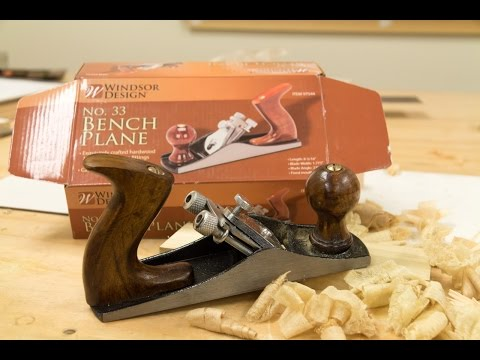 Harbor Freight No 33 Bench Plane Review and Tuneup