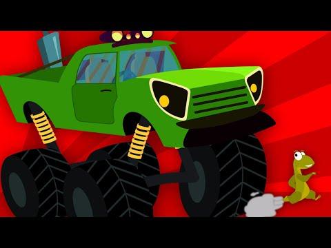 The Wheels On The Truck | Truck Stunts | Nursery Rhymes | Kids Songs | Kids tv