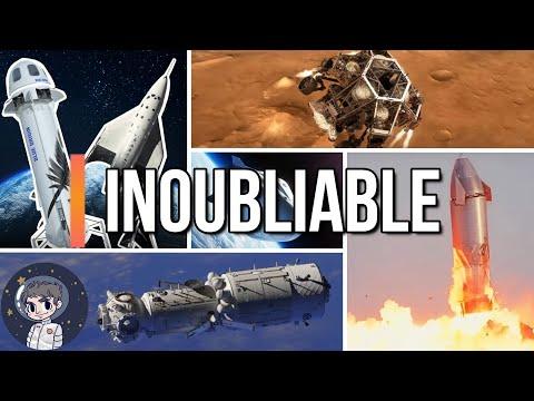 9 Succès Spatiaux INOUBLIABLES de 2021 - Le Journal de l'Espace #96 - Actualités spatiales