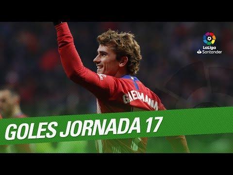 Todos Los Goles De La Jornada 17 De LaLiga Santander 2018/2019