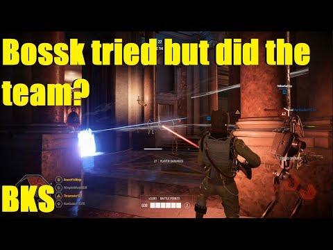 Star Wars Battlefront 2 - Don't hire Bounty Hunters to lead Armies! (Bossk Killstreak) thumbnail