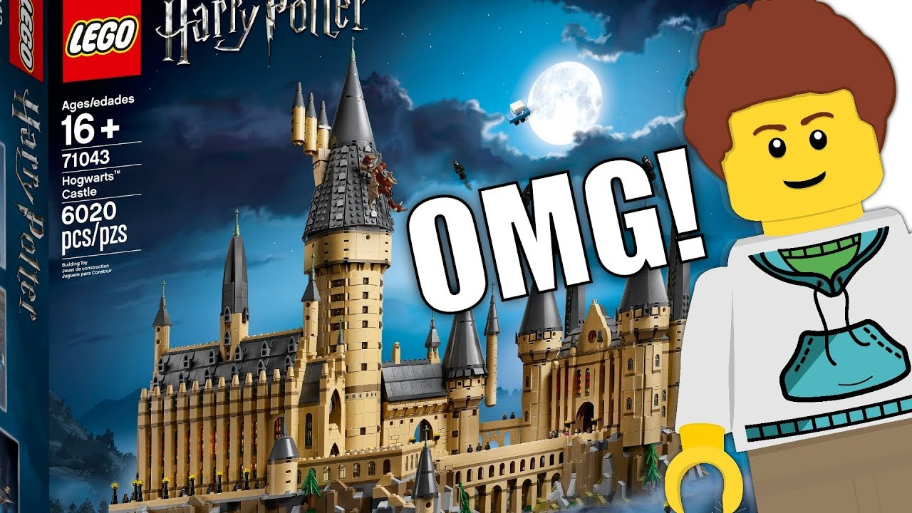 The Ultimate Lego Harry Potter Set 71043 Hogwarts Castle Youtube