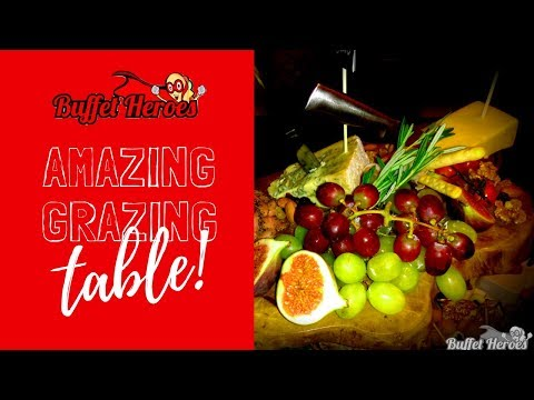 Amazing grazing table Sept. 2018