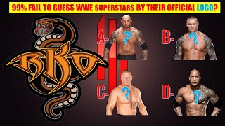 WWE QUIZ - 99% Fail to Guess All WWE Superstars by Their Official Logo [Hardest Level]