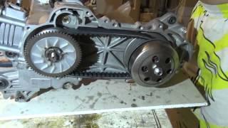 (Өз қолымен)құрастыру күні ішінде және сцепления на скутере 139 qmb