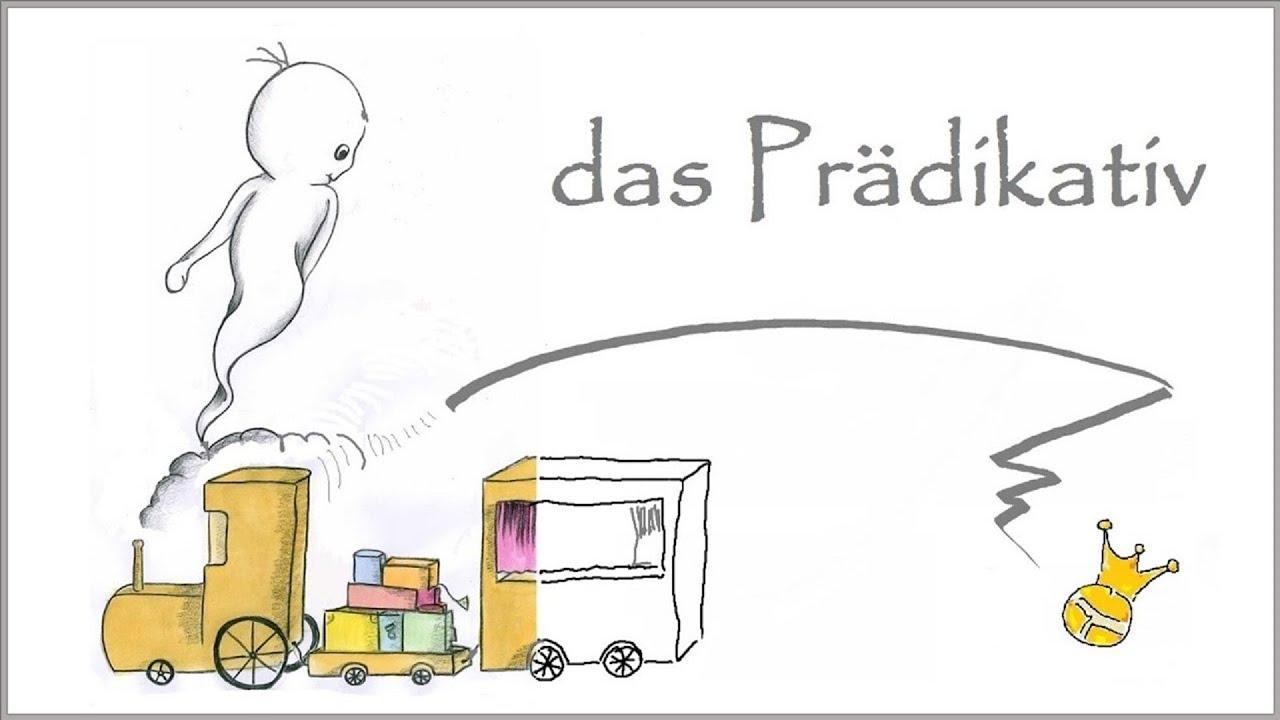 Zum Prädikativ / Prädikatsnomen - Satzglieder - DiB - YouTube