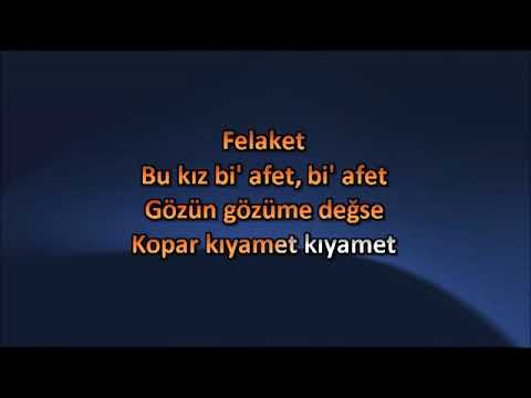 Ezhel - Felâket ( Karaoke )