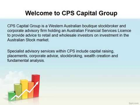 Stock broker in Perth | Stock brokers in Australia | CPS Capital Group
