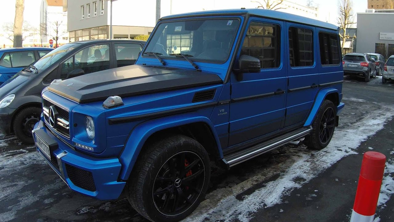 mercedes benz g class w463 compilation 4 matte blue g63. Black Bedroom Furniture Sets. Home Design Ideas