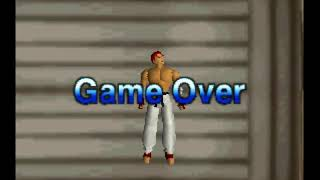 Fighters Destiny (N64 Game Over)