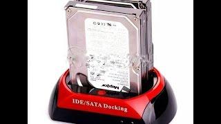 Обзор док-станции для жестких дисков.