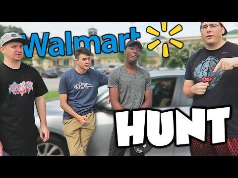 SCAVENGER HUNT CHALLENGE AT WALMART!!