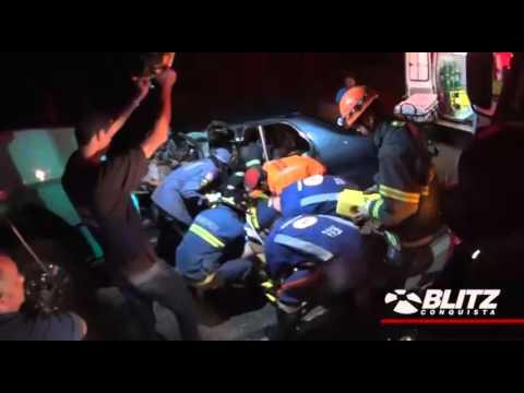 Acidente na BA 262   duas pessoas em estado grave
