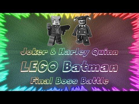 LEGO Batman The Video Game ★ Perfect Final Boss Battle • Joker & Harley Quinn |