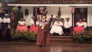 Festival Nacional de la Mejorana 2013 - Concurso de Pollera Montuna Santeña