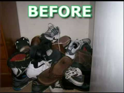 DIY Build Your Own Shoe Rack Organizer, You Can Do It!   YouTube