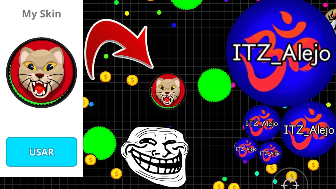 CAN YOU BELIEVE THIS? 4.0 (Agar.io Mobile Gameplay!)