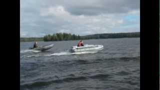 Лодки Фрегат. Выездное обучение (сентябрь 2010 г.)
