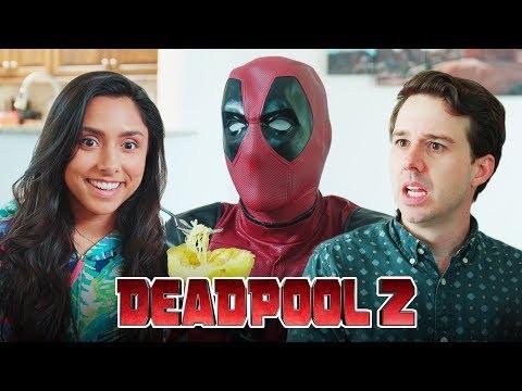 Deadpool Tries A Spaghetti Squash