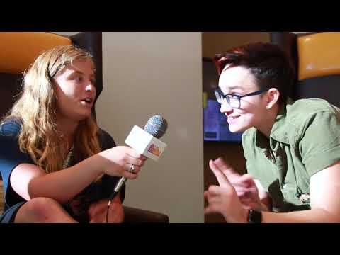 Bex TaylorKlaus  at San Diego ComicCon 2018!