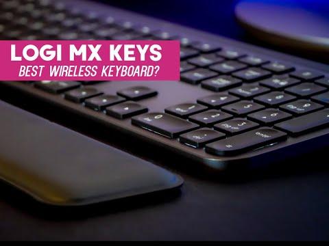 Logitech MX Keys Plus | Wireless Backlit Keyboard For Windows, Mac + More
