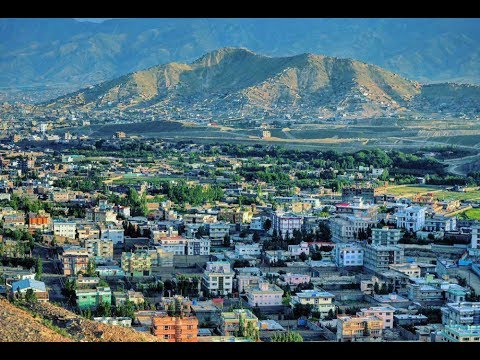 Afghanistan Beautiful City Kabul in 2019