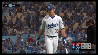 MLB 18 The Show-St Louis at LA Dodgers Game 2