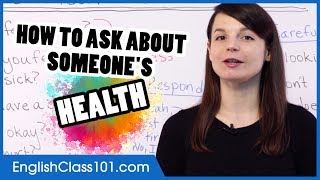 How to Ask Ab๐ut Health and Injuries in English - Basic English Phrases