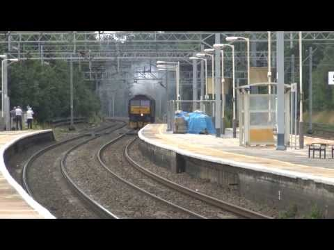 Oliver Cromwell and Tangmere Loco Movement 25th July 2013