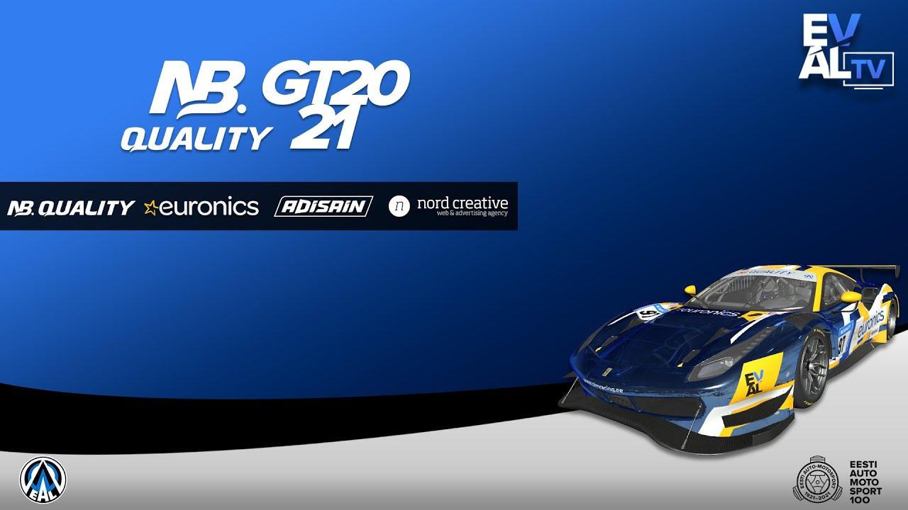 2021 NB Quality GT: 4. Etapp - Road America (B-Finaal, kommentaatoriteta)