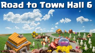 Clash of Clans Let's Play | Town Hall 5 to 6 | Clash of Clans Strategy